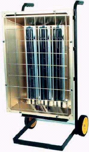 Merveilleux Portable Electric Infrared Heater   6.0 KW, 240/1 Or 240/3